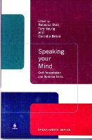 Speaking Your Mind: Oral Presentation...