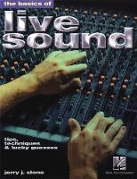 The Basics of Live Sound: Tips,...