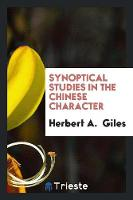 Synoptical Studies in the Chinese...