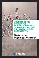 Journal of the Society for Psychical...