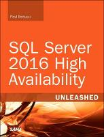 SQL Server 2016 High Availability...