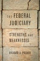 The Federal Judiciary: Strengths and...