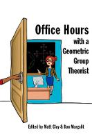 Office Hours with a Geometric Group...