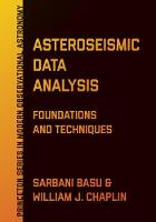 Asteroseismic Data Analysis:...