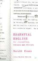 Essential English: For Journalists,...