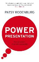 Power Presentation: Formal Speech in...