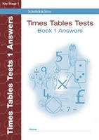 Times Tables Tests Answer Book 1