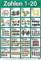 Wall charts & posters - Zahlen 1-20