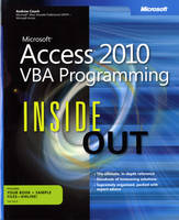 Microsoft Access 2010 VBA Programming...