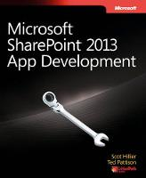 Microsoft(R) SharePoint(R) 2013 App...