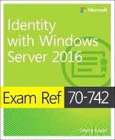 Exam Ref 70-742 Identity with Windows...
