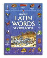 Usborne Latin words sticker book