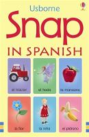 Usborne Snap in Spanish