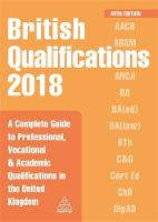 British Qualifications 2018: A...
