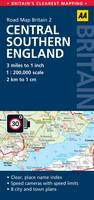 2. Central Southern England: AA Road...