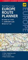 Europe Route Planner: AA Road Map Europe