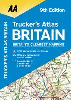 AA Trucker's Atlas Britain