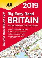 AA Big Easy Read Atlas Britain: 2019