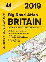AA Big Road Atlas Britain: 2019