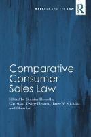 Comparative Consumer Sales Law