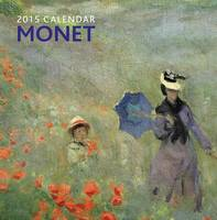 Monet Calendar Back View