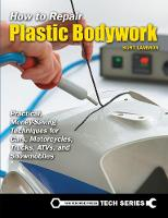 How to Repair Plastic Bodywork:...