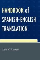 Handbook of Spanish-English translation