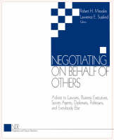Negotiating on Behalf of Others:...