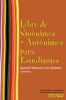 Spanish Thesaurus for Students: Libro...