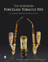 European Porcelain Tobacco Pipe:...