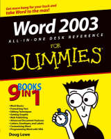 Word 2003 All-in-One Desk Reference...