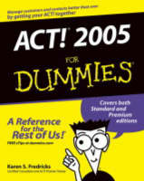 ACT! X For Dummies
