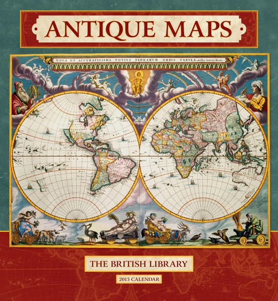 Antique Maps Wall Calendar 2015
