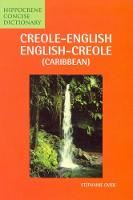 Creole (Caribbean)-English /...