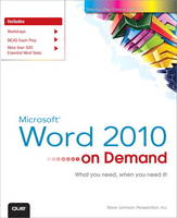 Microsoft Word 2010 on Demand