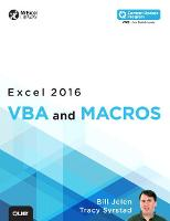 Excel 2016 VBA and Macros: Includes...