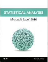 Statistical Analysis: Microsoft Excel...