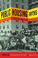 Public Housing Myths: Perception,...