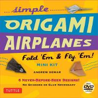 Simple Origami Airplanes Mini Kit:...