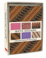 Batik Note Cards: 6 Blank Note Cards ...