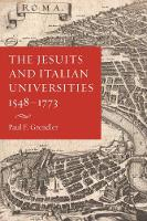 The Jesuits and Italian Universities...