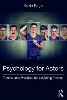 Psychology for Actors: Theories and...