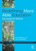 Redefining More Able Education: Key...