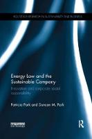 Energy Law and the Sustainable...