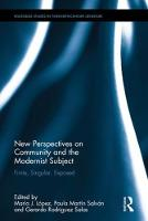 New Perspectives on Community and the...