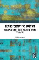 Transformative Justice: Remedying...