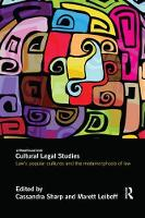 Cultural Legal Studies: Law's Popular...