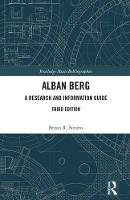 Alban Berg: A Research and ...