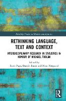 Rethinking Language, Text and ...