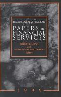 Brookings-Wharton Papers on Financial...